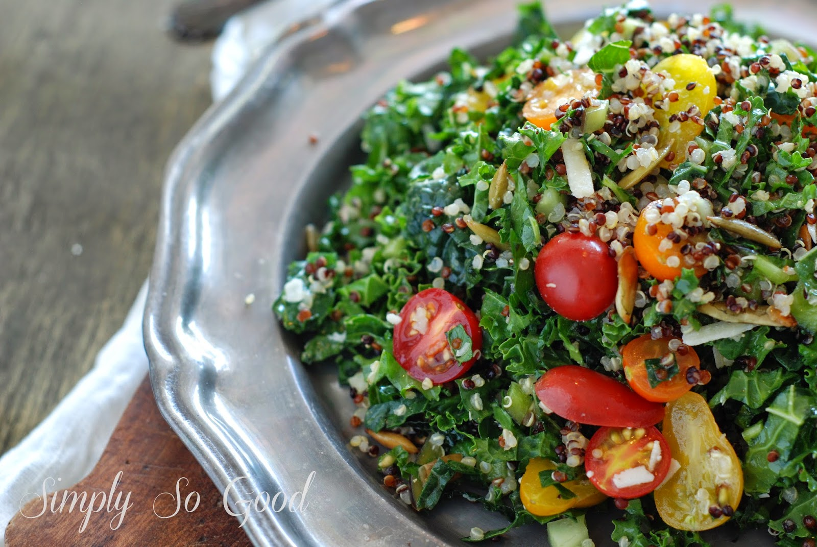 15 2 - Farm Stand Kale and Quinoa Salad