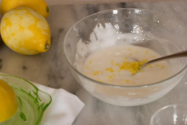 21 - Lemon Curd and White Chocolate Lemon Scones