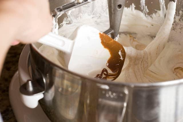 24 1 - Dark Chocolate Crepe Cake Step # 2 Hazelnut Filling