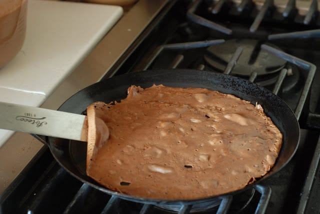 31 3 - Dark Chocolate Crepe Cake Step # 1