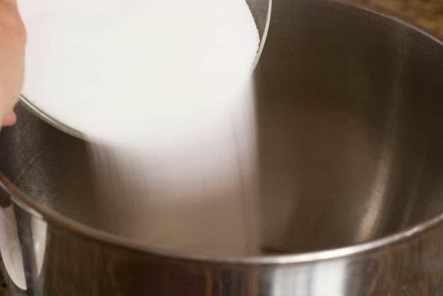 6 2 - Dark Chocolate Crepe Cake Step # 2 Hazelnut Filling