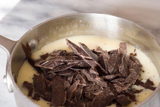 8 3 - Dark Chocolate Crepe Cake Step # 1