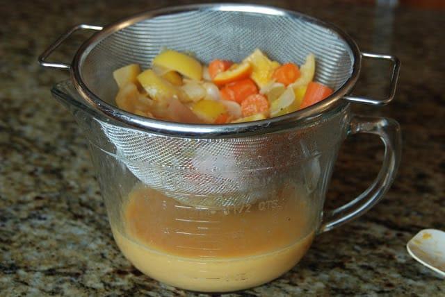 Citrus Chicken 002 - Citrus Chicken with Spring Vegetables