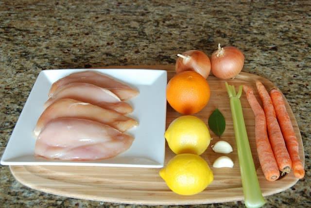 Citrus Chicken 023 - Citrus Chicken with Spring Vegetables