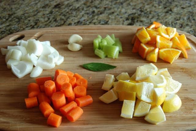 Citrus Chicken 051 - Citrus Chicken with Spring Vegetables
