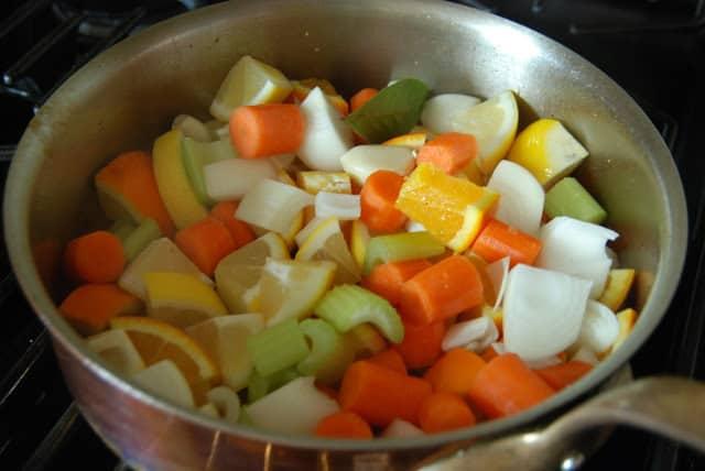 Citrus Chicken 078 - Citrus Chicken with Spring Vegetables