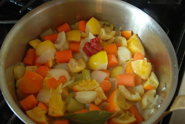 Citrus Chicken 098 - Citrus Chicken with Spring Vegetables