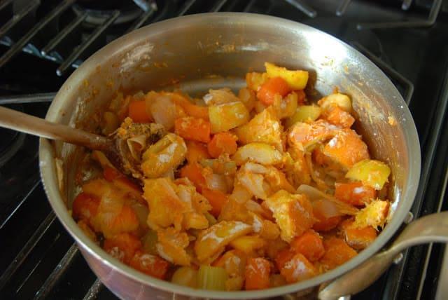 Citrus Chicken 104 - Citrus Chicken with Spring Vegetables