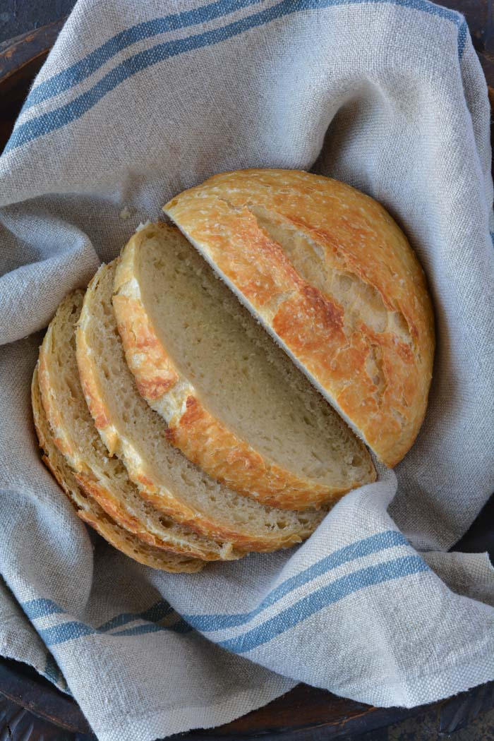 how to make crusty bread