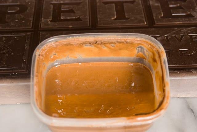 chocolate crepes 1 - Dark Chocolate Crepe Cake Step # 1