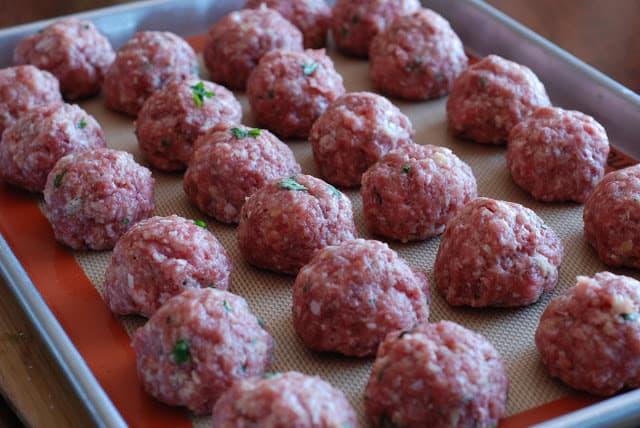 17 2 - Stuffed Meatballs and Spaghetti