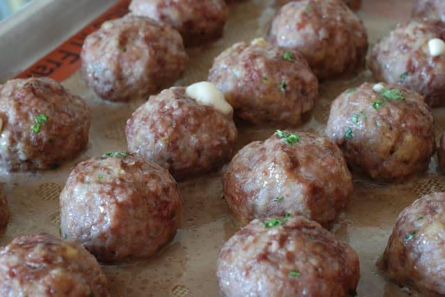18 2 - Stuffed Meatballs and Spaghetti