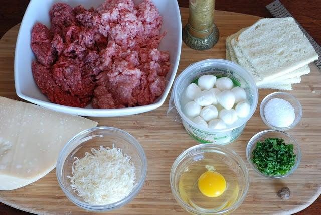 2 2 - Stuffed Meatballs and Spaghetti