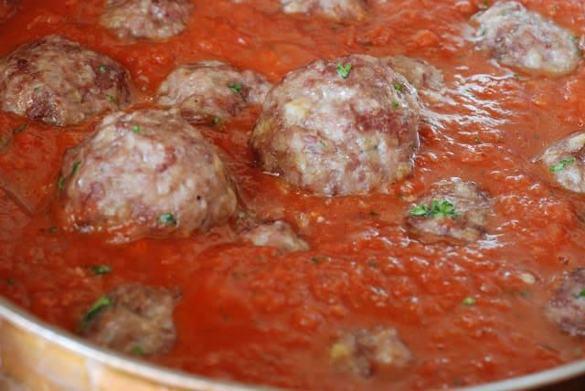 39 - Stuffed Meatballs and Spaghetti