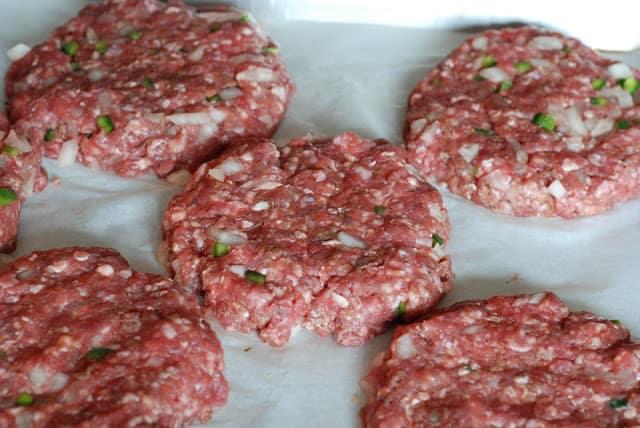 15 - Jalapeno Cheddar Burgers