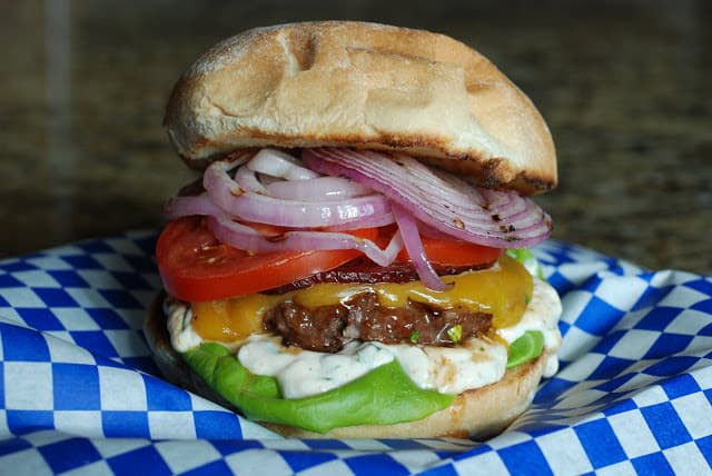 45 1 - Jalapeno Cheddar Burgers