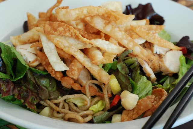 Chicken Yakisoba Salad