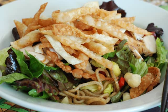 Chicken Yakisoba Salad 236 - Chicken Yakisoba Salad