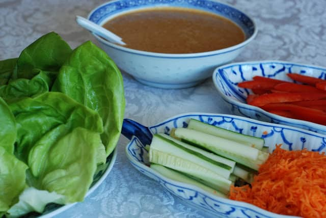 40 1 - Thai Chicken Wraps