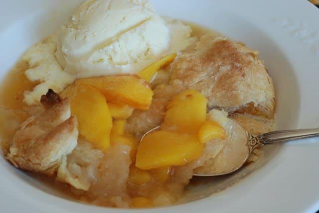 35 - Peach Cobbler