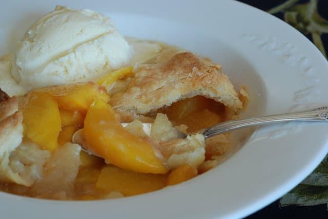 37 - Peach Cobbler