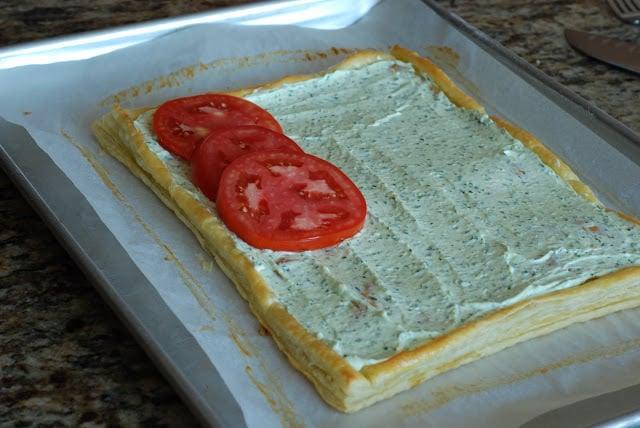 38 4 - Fresh Tomato and Basil Tart