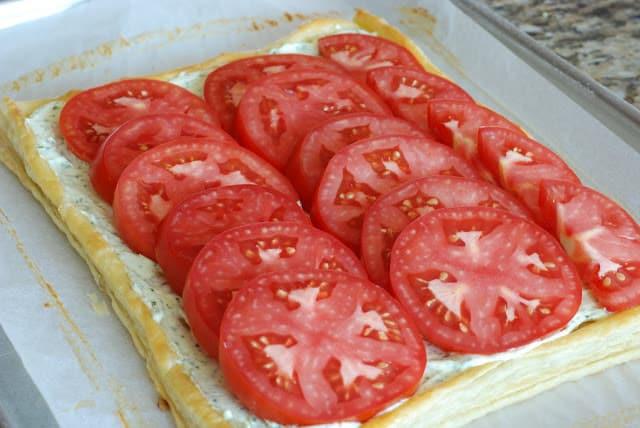 39 3 - Fresh Tomato and Basil Tart