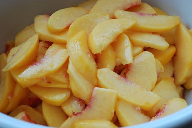 4 - Peach Cobbler