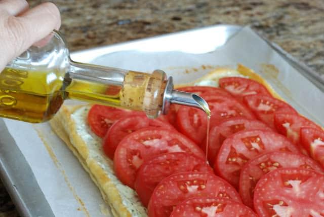 40 3 - Fresh Tomato and Basil Tart