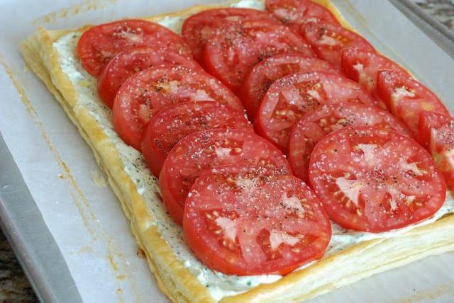 43 2 - Fresh Tomato and Basil Tart