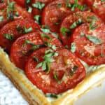 53 1 150x150 - Fresh Tomato and Basil Tart