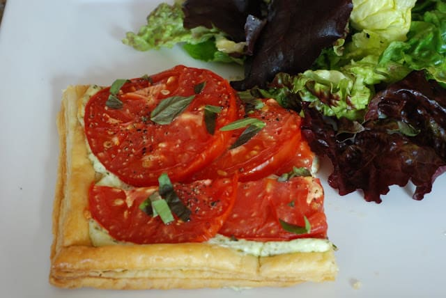 54 1 - Fresh Tomato and Basil Tart