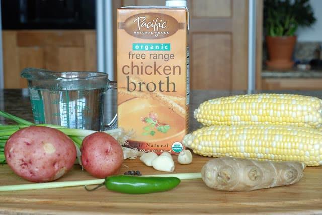 2 8 - Thai Corn Chowder