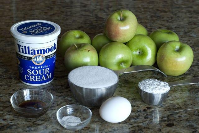 2 3 - Apple Sour Cream Pie