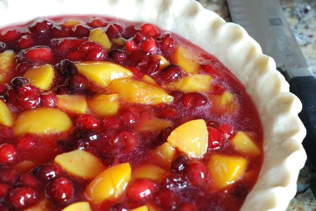 26 2 - Cranberry Peach Pie