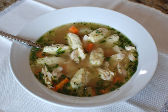48 - Chicken and Dumpling Soup