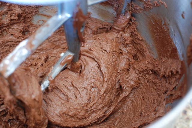 18 4 - Chocolate Cakes with Hazelnut Buttercream
