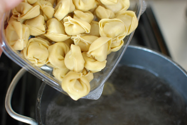 24 1 - Cheese Tortellini in Cream Sauce