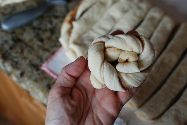 37 - GIANT Cinnamon Twists
