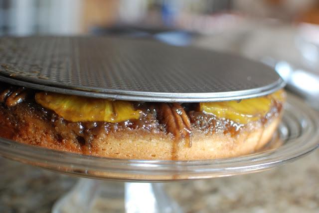 28 - Fresh Pineapple Upside-Down Cake