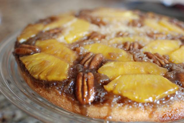 29 - Fresh Pineapple Upside-Down Cake