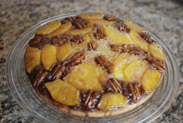 30 - Fresh Pineapple Upside-Down Cake