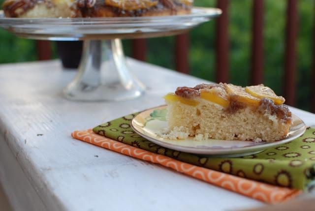 31a - Fresh Pineapple Upside-Down Cake