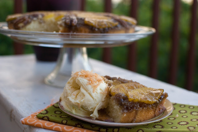 31b - Fresh Pineapple Upside-Down Cake