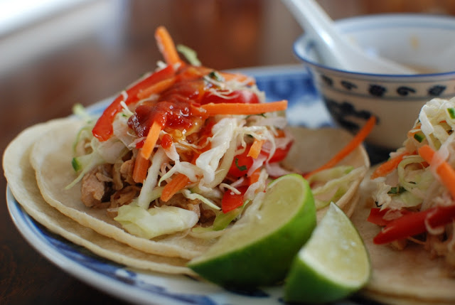 Coconut Ginger Tacos