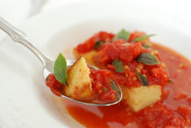29 1 - Rosemary Polenta with Sauteed Tomatoes