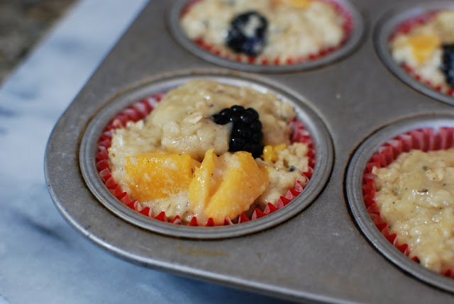 29 5 - Blackberry Peach Lavender Muffins