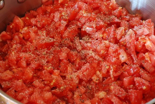 29 - Rosemary Polenta with Sauteed Tomatoes