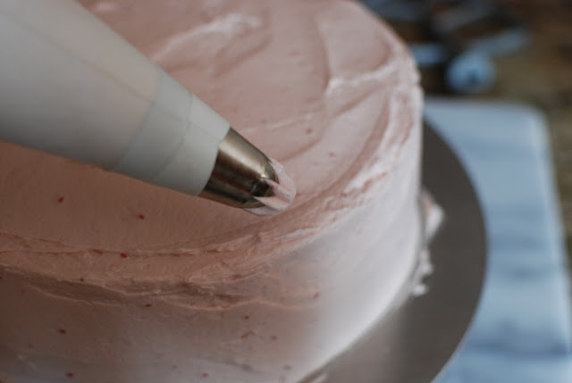 38 2 - Chocolate Layer Cake with Raspberry Buttercream