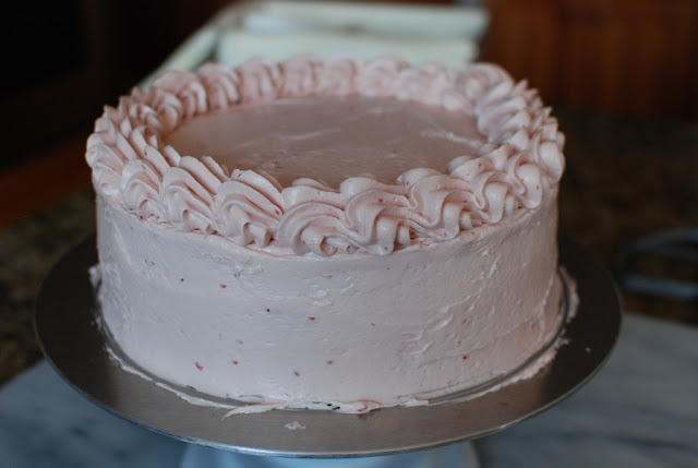 39 1 - Chocolate Layer Cake with Raspberry Buttercream